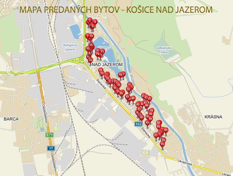 Mapa-predanych-nehnutelnosti-Nad-jazerom